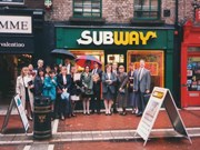 Subway Dublin Ireland 1993