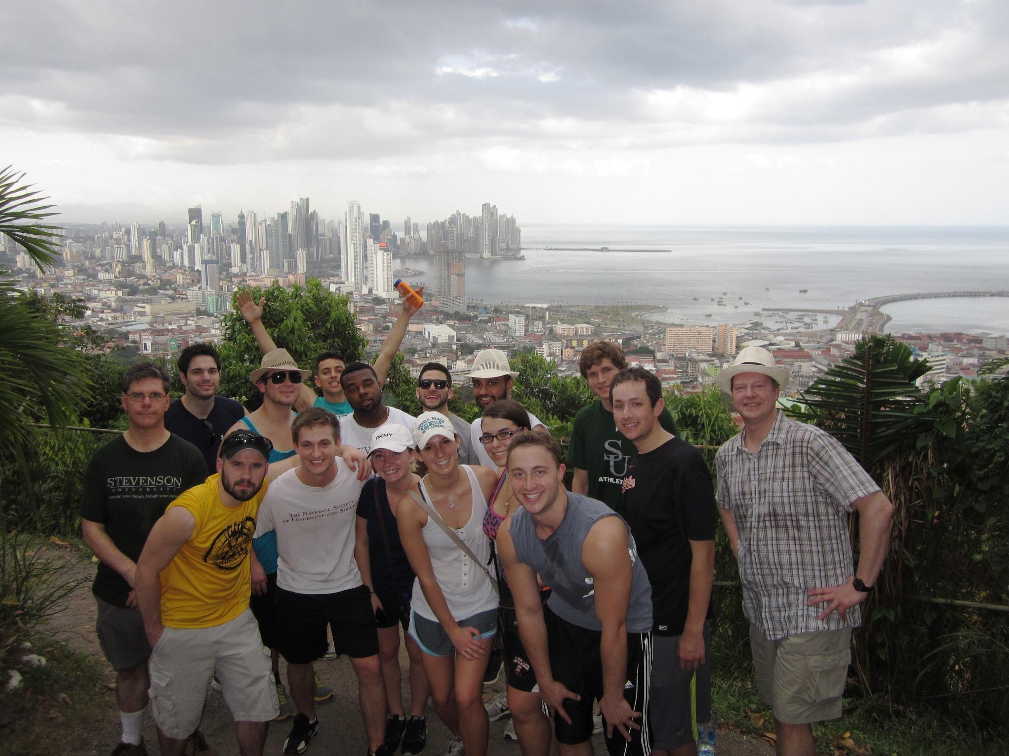 Lawrence E Burgee Ph D 2014 Winter Term In Panama
